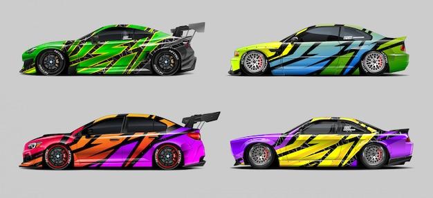 Set di disegni per auto