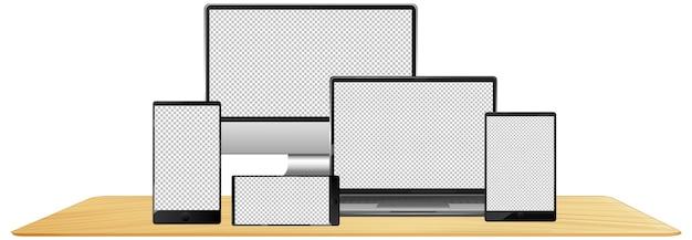 Set di dispositivi elettronici