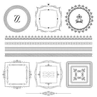 Set di elementi di design