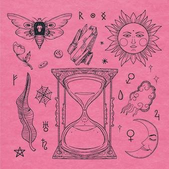 Set di elementi esoterici interessanti