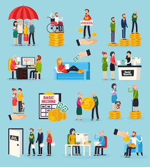 Set di elementi ortogonali di sicurezza sociale