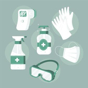 Set di equipaggiamento di protezione