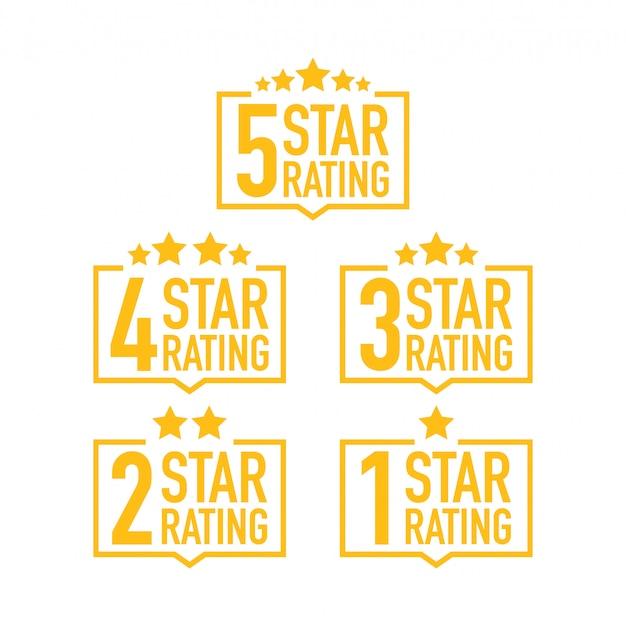 Set di etichette di valutazione