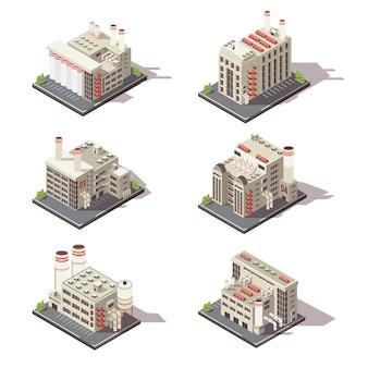 Set di fabbrica isometrica