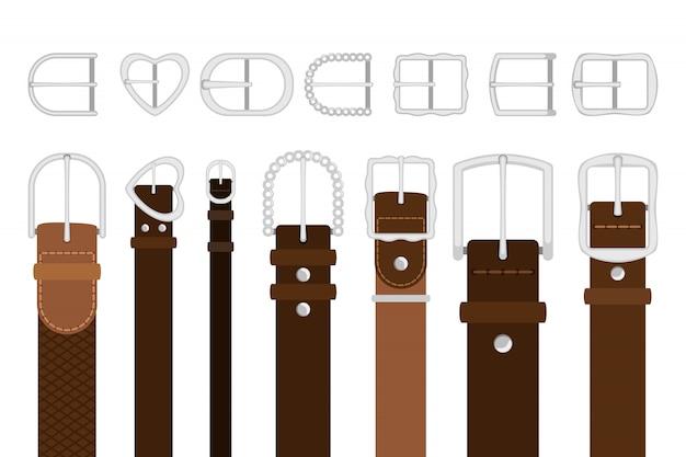 Set di fibbie in metallo