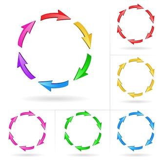 Set di frecce