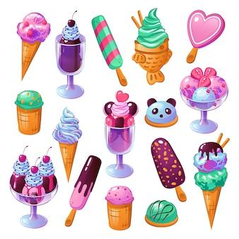 Set di gelato
