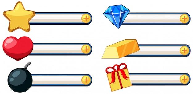 Set di gioco elemant