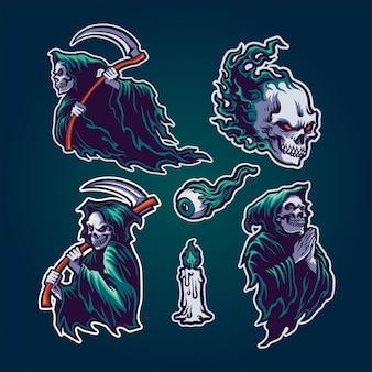Set di grim reaper
