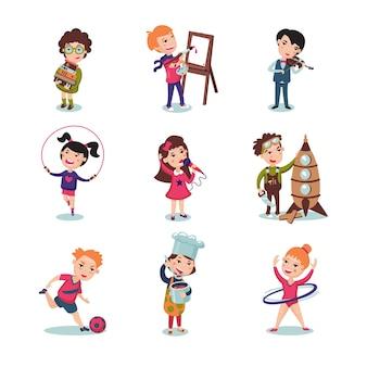 Set di hobby per bambini