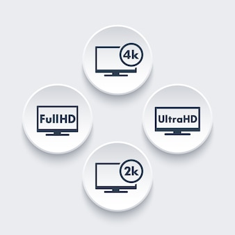 Set di icone ad alta definizione