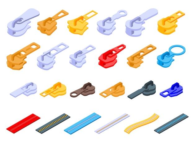 Set di icone con cerniera