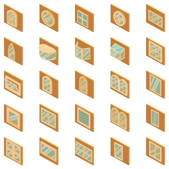 Set di icone del telaio
