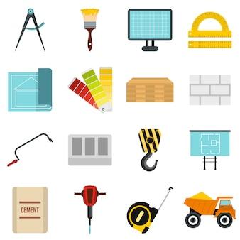 Set di icone di costruzione