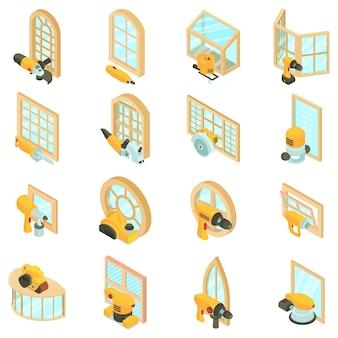 Set di icone di finitura