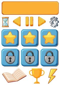 Set di icone di gioco
