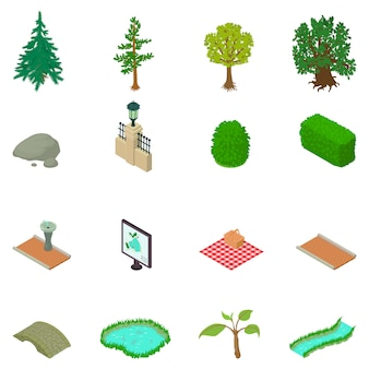 Set di icone di riserva
