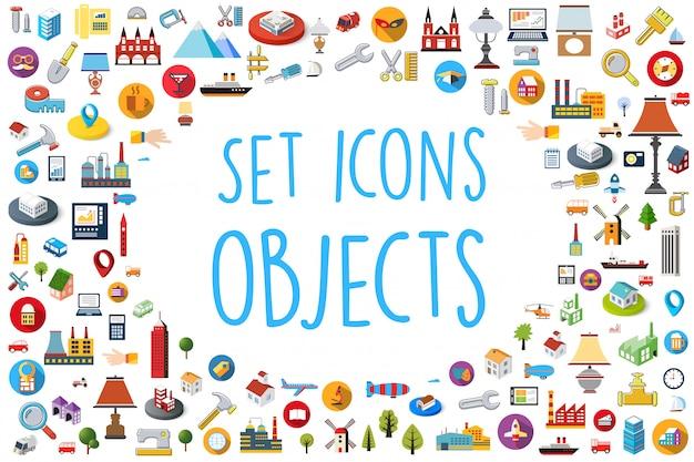 Set di icone web