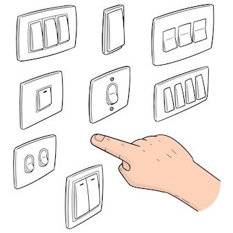 Set di interruttore elettrico