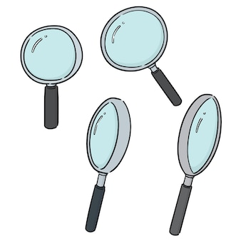 Set di lente d'ingrandimento