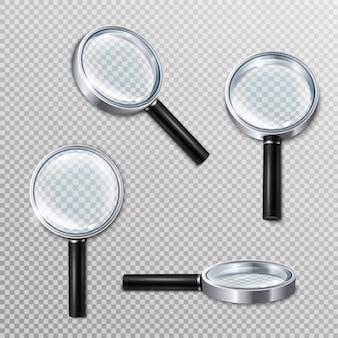 Set di lenti di ingrandimento realistico