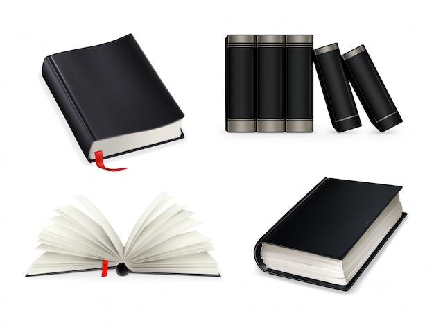 Set di libri neri