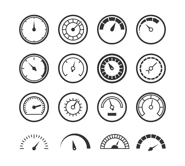 Set di linee di misurazione della velocità del tester elettrico di controllo industriale del contagiri manometro contagiri