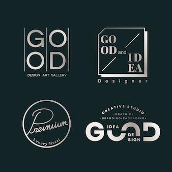 Set di logo di qualità
