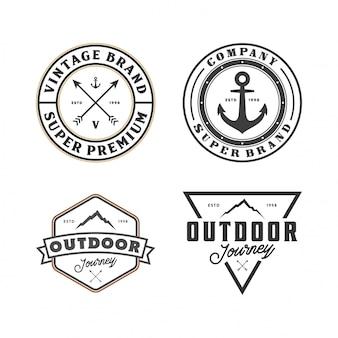Set di logo esterno