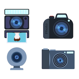 Set di macchine fotografiche retrò