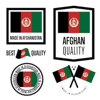 Set di marchi di qualità in afghanistan