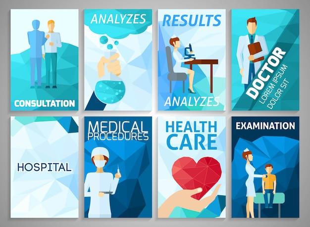 Set di medicina flyer