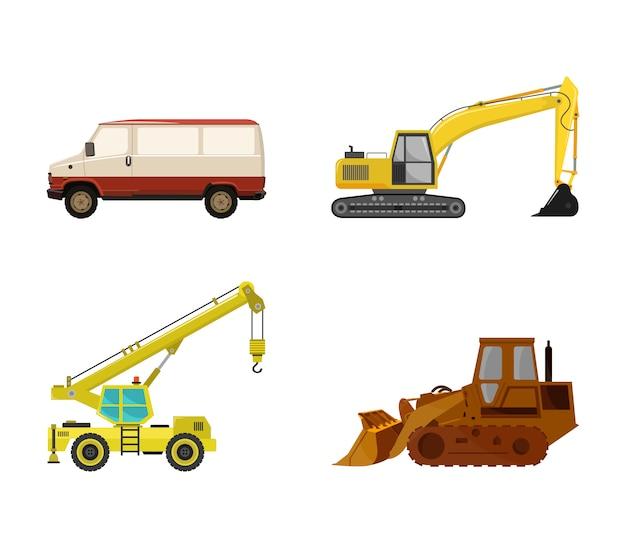 Set di mezzi di trasporto