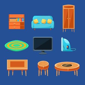 Set di mobili per soggiorno