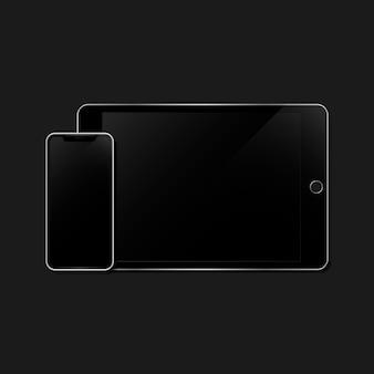Set di mockup del dispositivo digitale