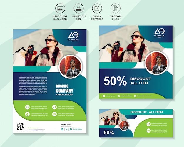Set di modelli di progettazione aziendale per il networking di soluzioni mobili di marketing digitale