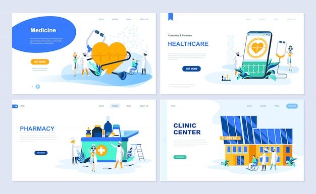 Set di modello di pagina di destinazione