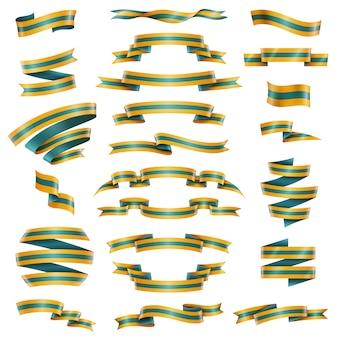 Set di nastri decorativi