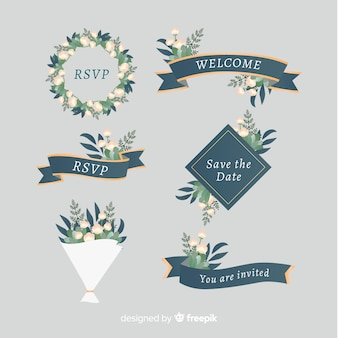 Set di nastri di nozze