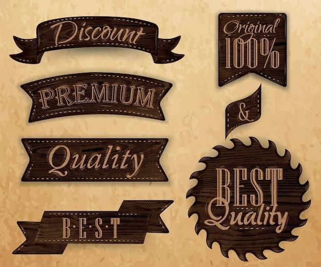 Set di nastri e etichette