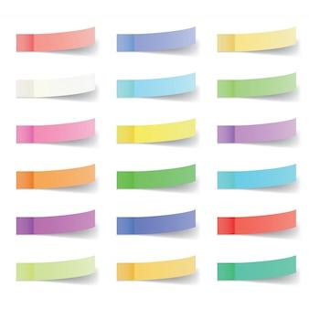 Set di note adesive per ufficio