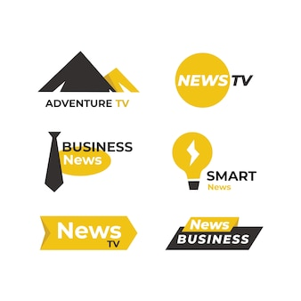 Set di notizie logo
