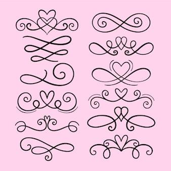 Set di ornamenti per il matrimonio