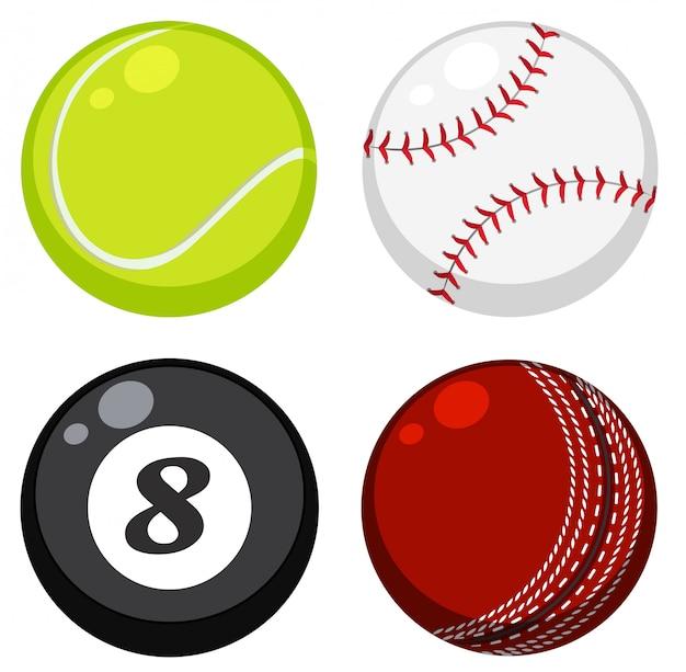 Set di palla diversa