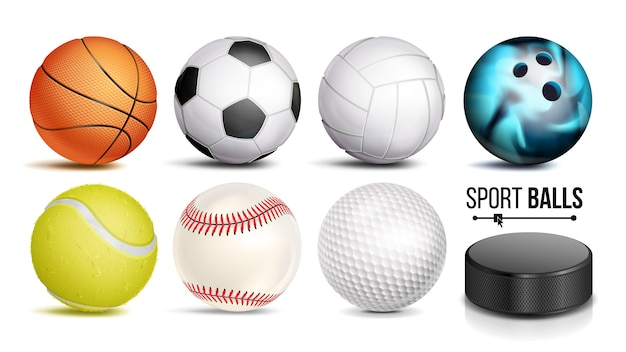Set di palline sportive