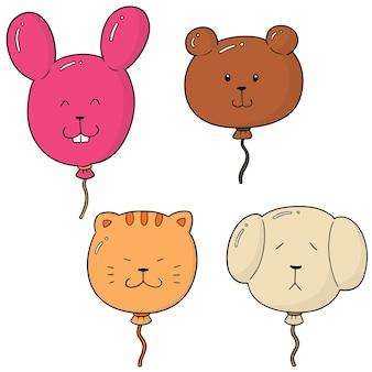 Set di palloncini animali