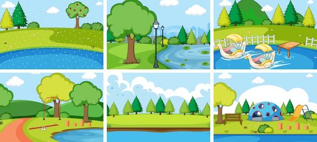 Set di parco giochi