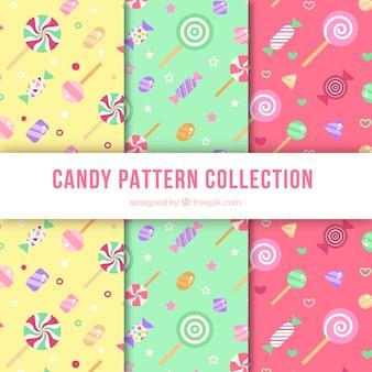Set di pattern di caramelle