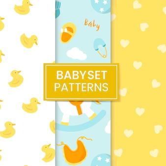 Set di pattern per la scuola materna