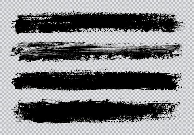 Set di pennellate grunge